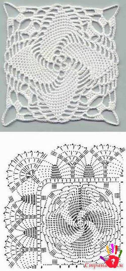 Dantel motif modelleri | gloria tejiendo con amor | Pinterest ...