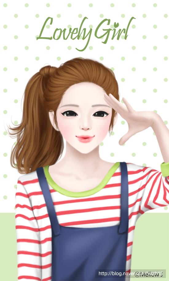 6번째 이미지 (Dengan gambar) Gadis animasi, Anime gadis