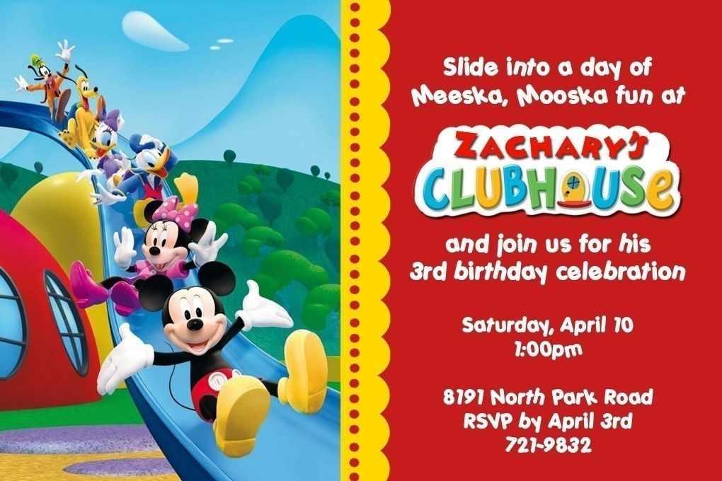 Mickey Mouse Clubhouse Birthday Decorations