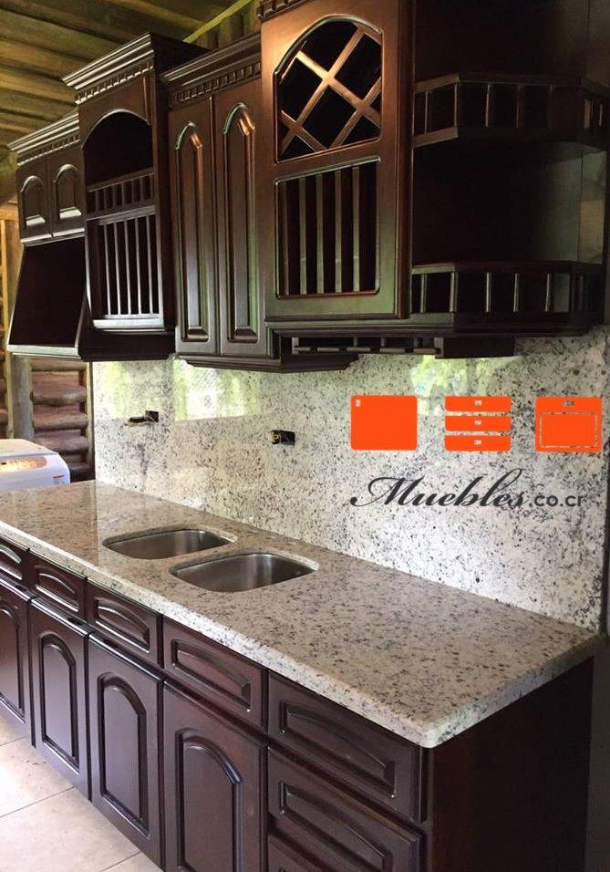 Mueble de cocina personalizado con granito. | MUEBLES DE COCINA ...