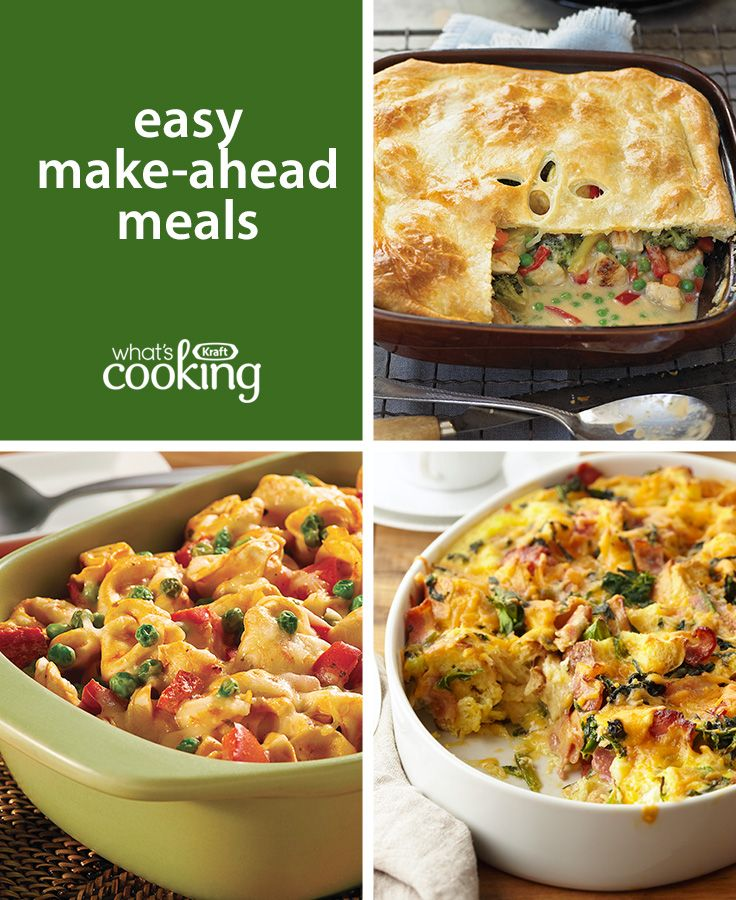 50 Delicious Make Ahead Freezer Meals: Save This Easy Make-ahead Meals #recipe Collection And You