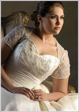 Wedding Dresses For Plus Sized Brides Beautiful Size And Bridal Accessories