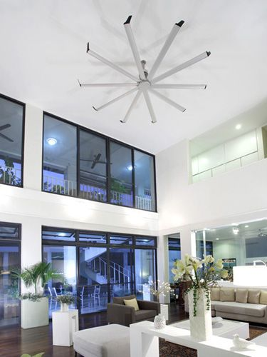 Isis can move enough air to handle large rooms with high ceilings isis in your home isis moves as much air as 9 standard ceiling fans this means isis can move enough air to handle large rooms with high ceilings aloadofball Image collections