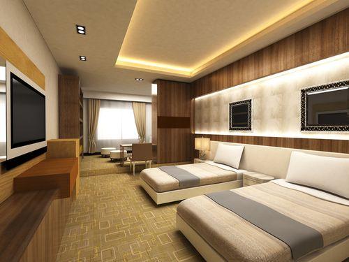 Modern bedroom #Hotel #Designs   Ceiling design bedroom ...
