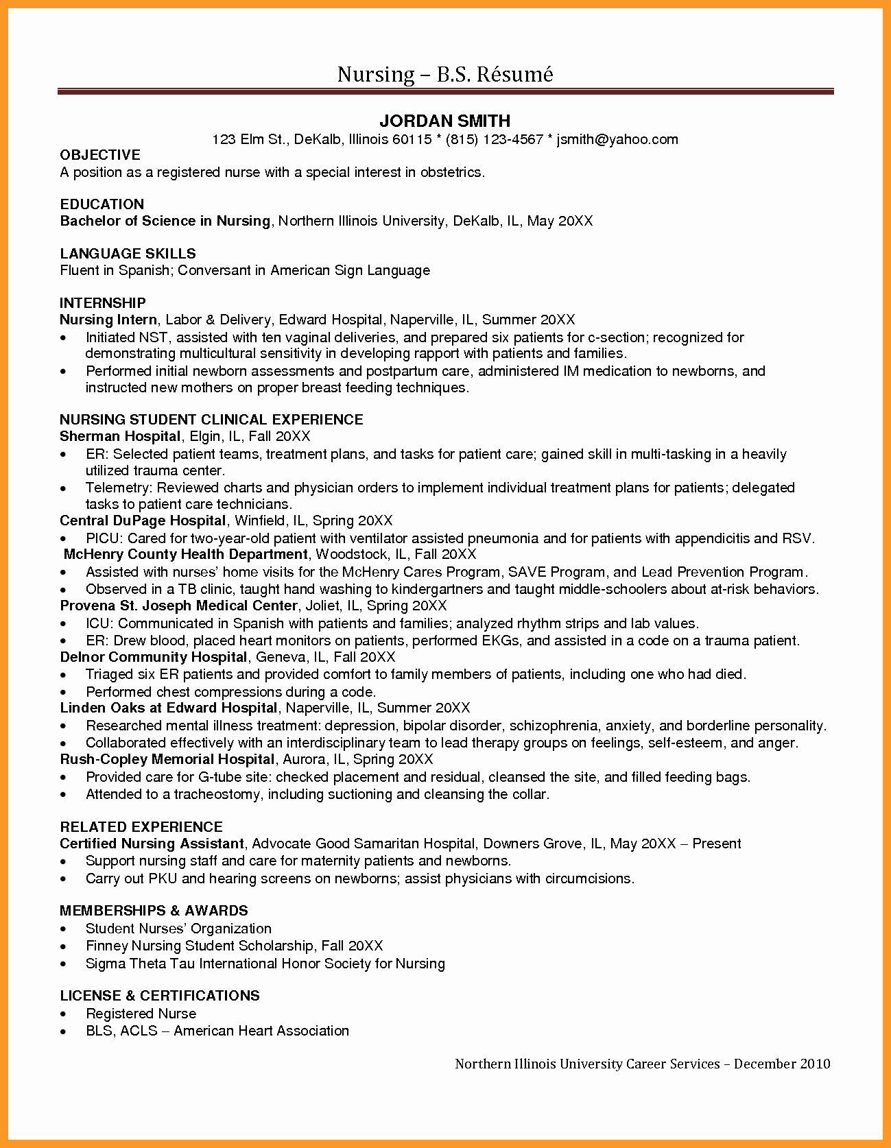 20 Home Health Nurse Job Description Resume