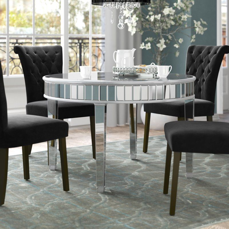 Rosdorf Park Orpha Round Dining Table Reviews Wayfair Round Dining Table Dining Table Round Dining
