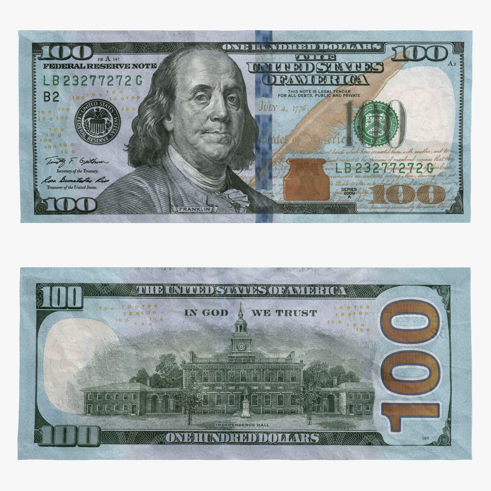 Us Money Dollar Coins Nickel Dime Quarter Cash Coin Bill 100 One