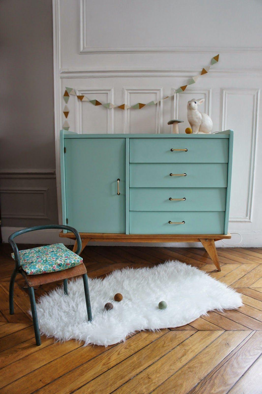 Pour relooker mon dernier meuble trouv dans ma caverne d 39 ali baba - Pieds de meuble vintage ...