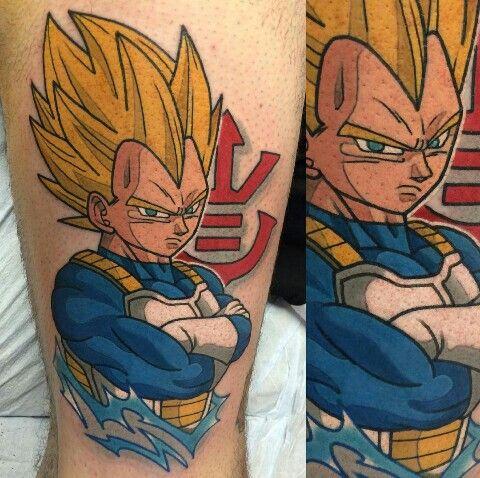 vegeta tattoo by adam perjatel
