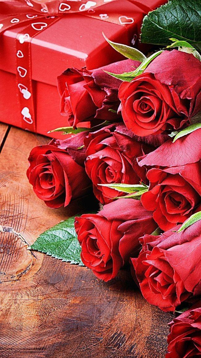 С днем рождения | Розы, Красивые розы, Красные розы