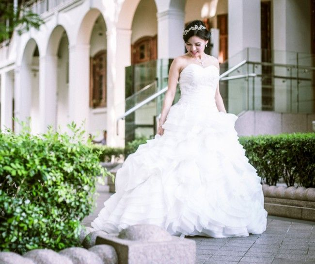 My Ball Gown wedding dress is for sale on Still White.