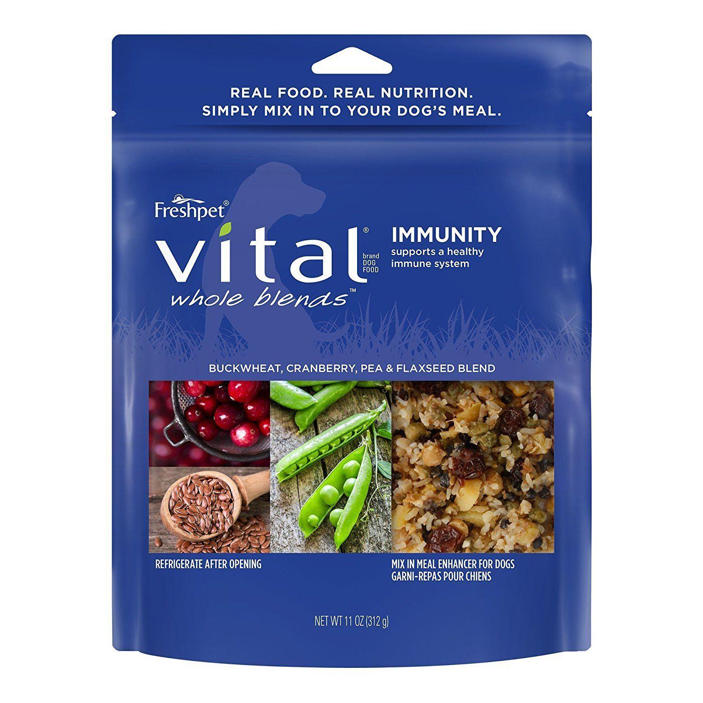 Freshpet Vital Whole Blends Immunity Recipe, Mix In Meal