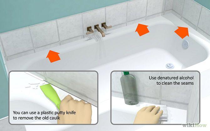 Caulk A Bathtub Bathtub Bathtub Tile Bathtub Remodel