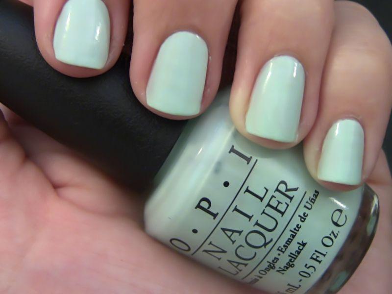 Polishpedia: OPI Gargantuan Green Grape Swatch | nails | Pinterest ...