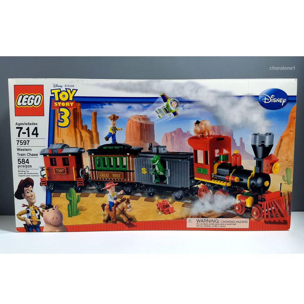 Lego Toy 3 : Lego toy story western train chase new rare