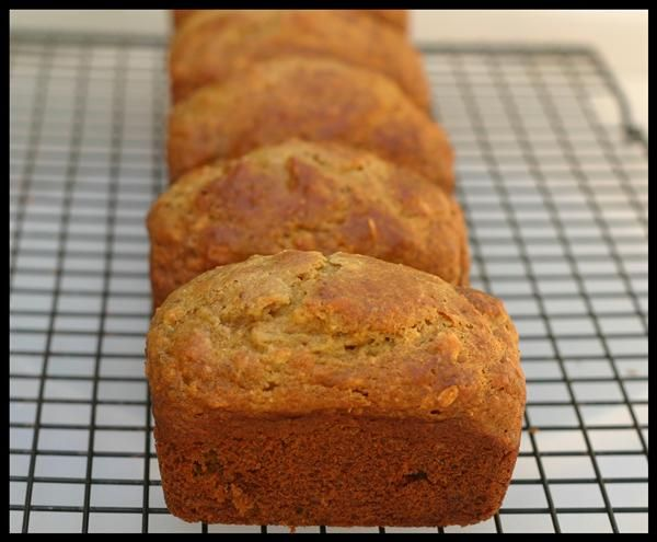 A better banana bread for the nutritarian inside of you kids still banana bread with all whole food ingredients including white northern beans snacks whole food forumfinder Choice Image