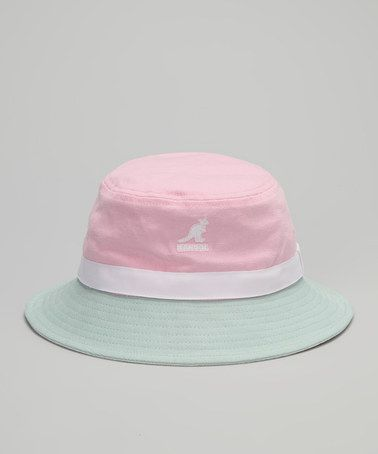 600d820d7f0 Take a look at this Pretty Pink Bucket Hat by Kangol on  zulily today!
