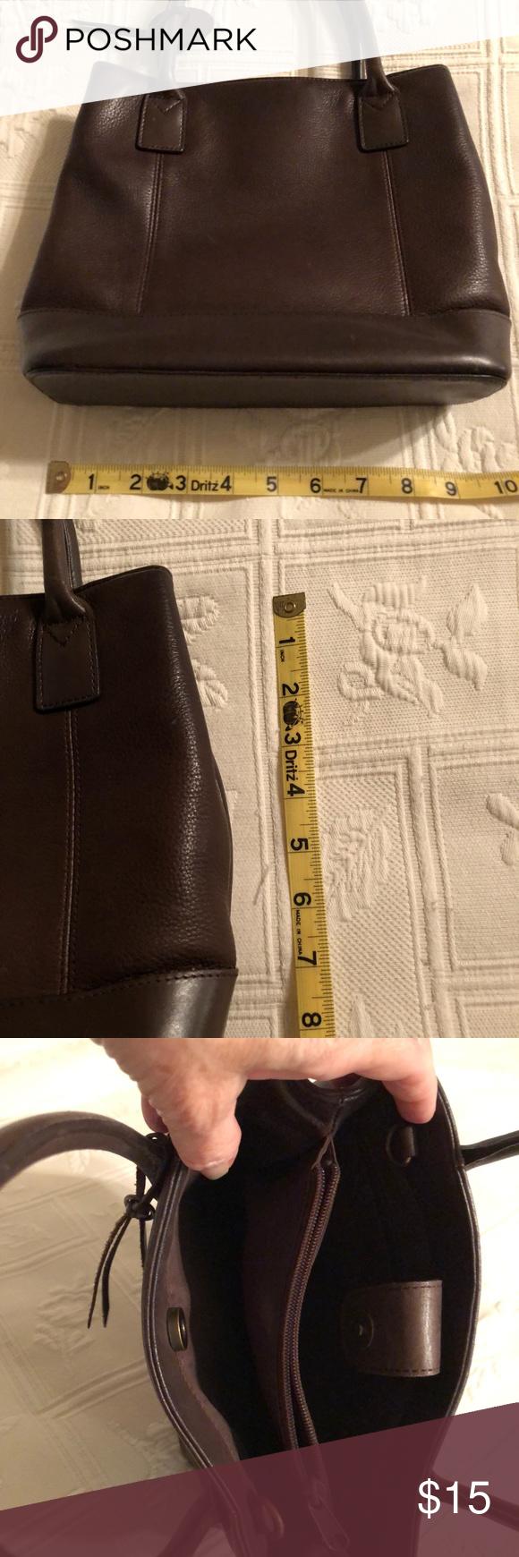 Handbag Brown leather handbag in great condition Wilsons