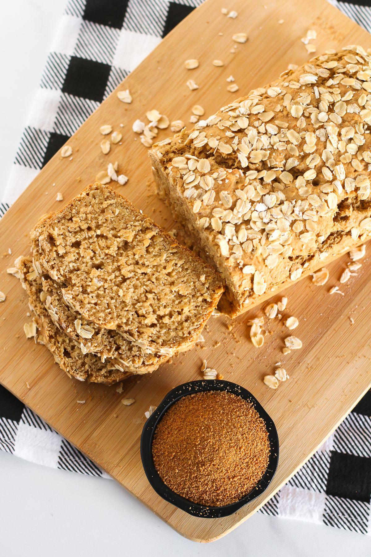 gluten free vegan oatmeal quick bread Sarah Bakes Gluten