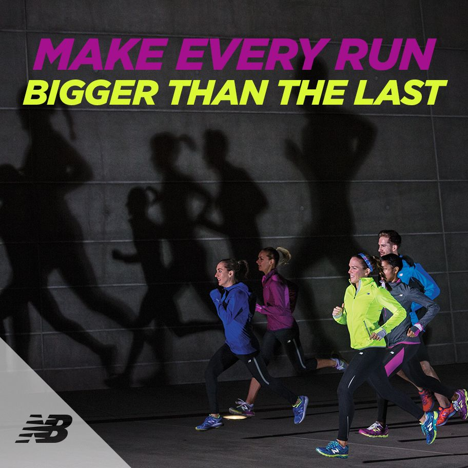 That fitter, stronger, happier you is over that next hill, on that next street, or that next lap! #runningmotivation #newbalanceau