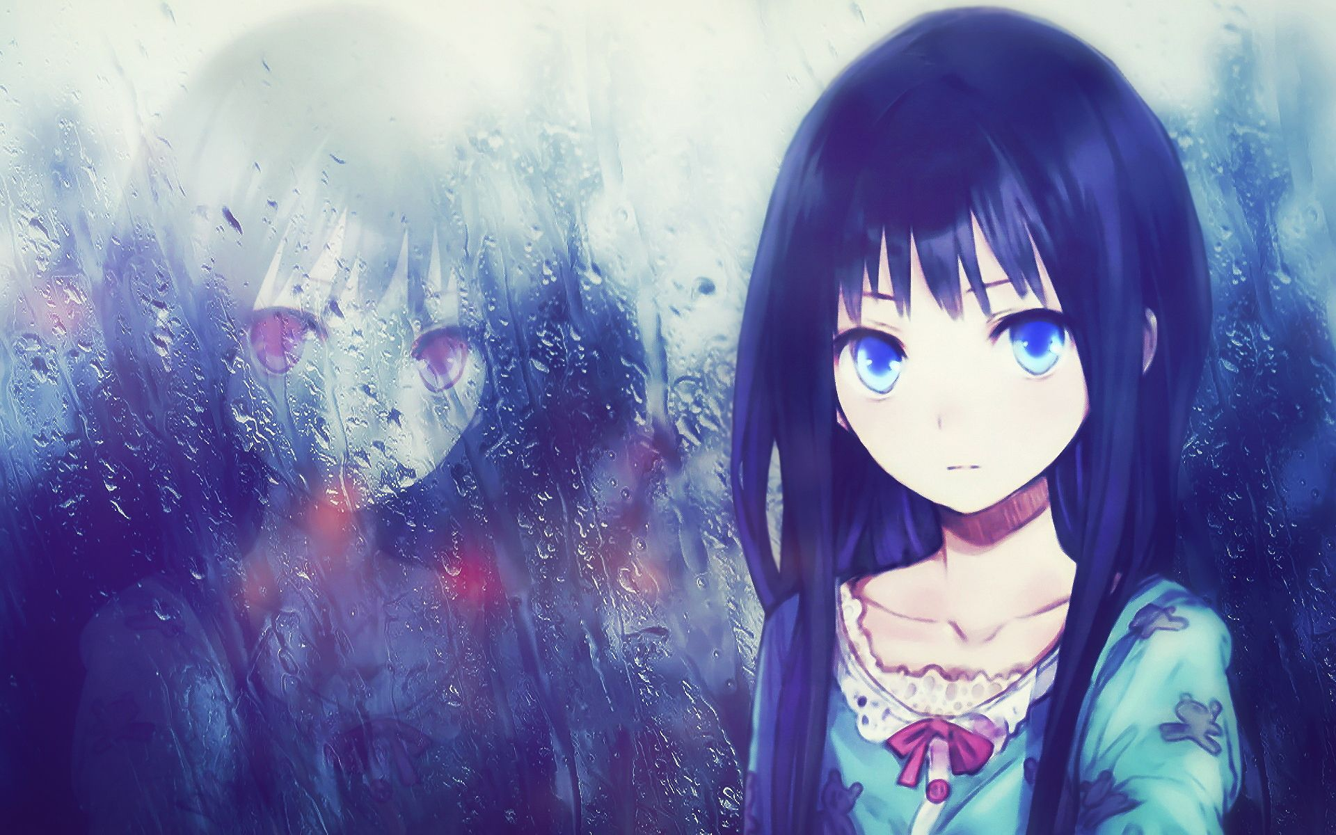 Anime Lonely Wallpapers Lonely Anime Girl Wallpaper With Resolutions X Pixel