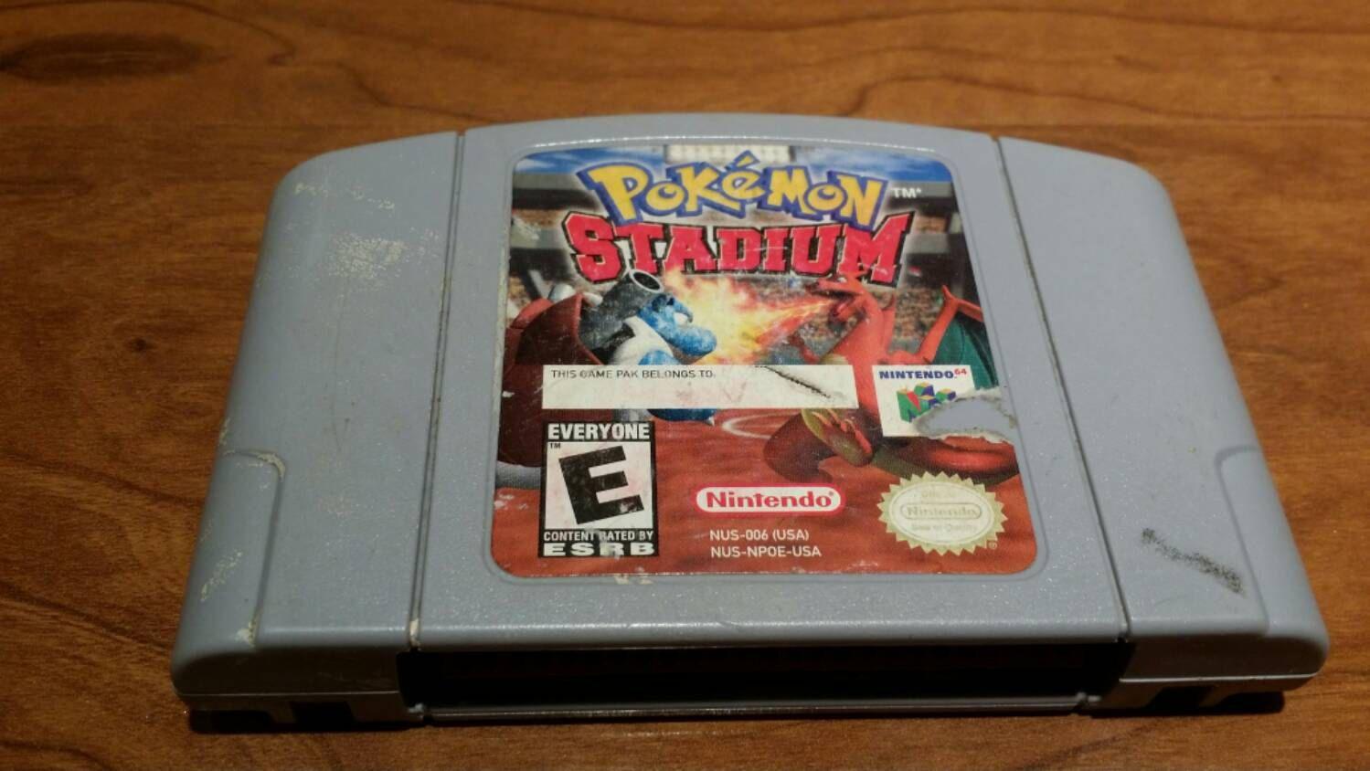 Pokemon Stadium Nintendo 64 N64 Video Game Pokemon Stadium N64