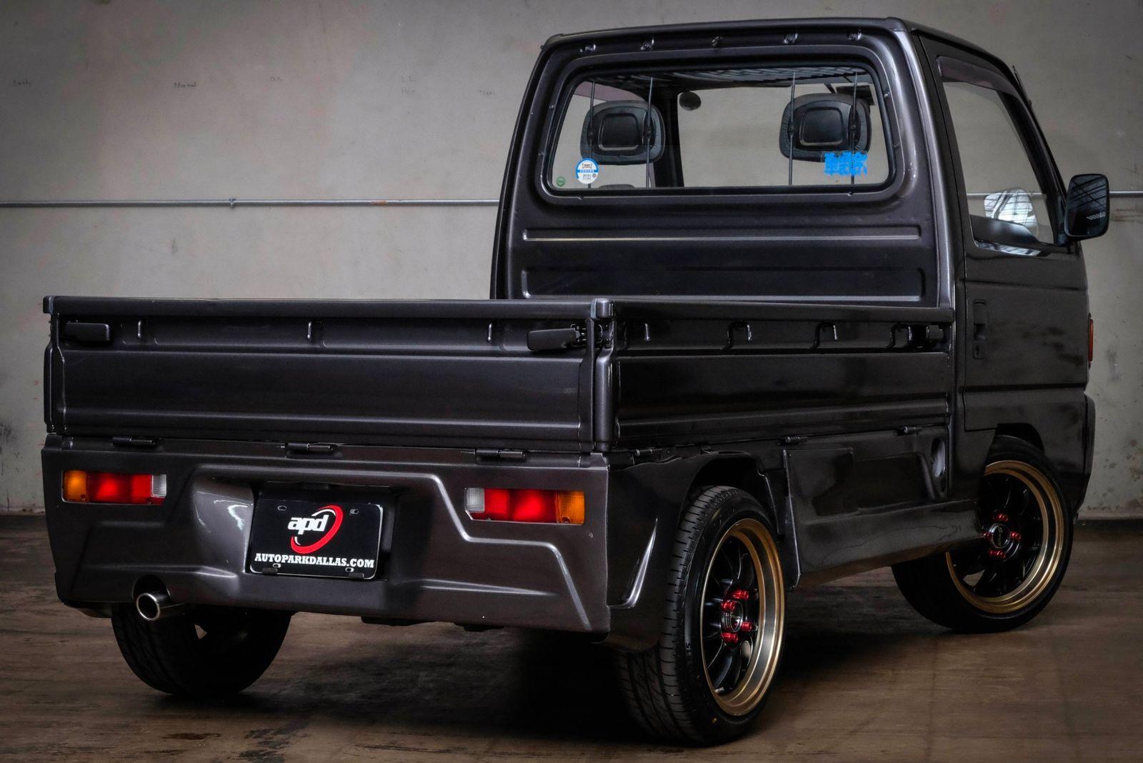 1990 Honda Acty In 2020 Honda Mini Trucks Vehicle Barriers