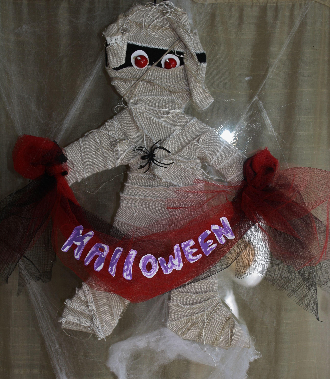 decorazioni per halloween fatte da me con materiali riciclati