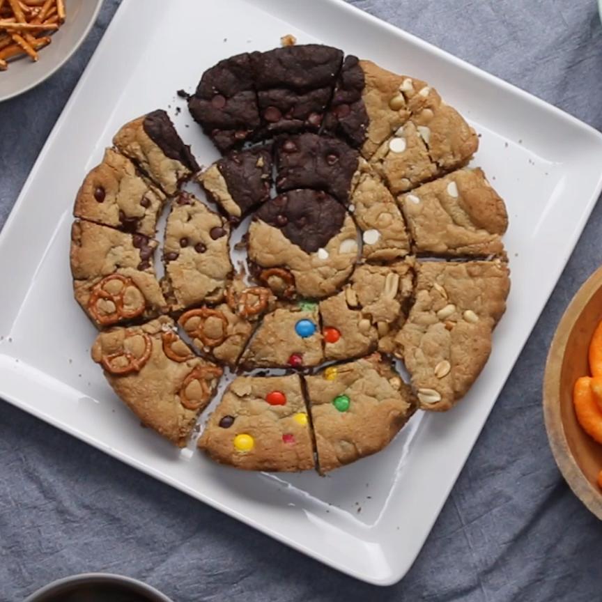 Multi Flavor Skillet Cookie