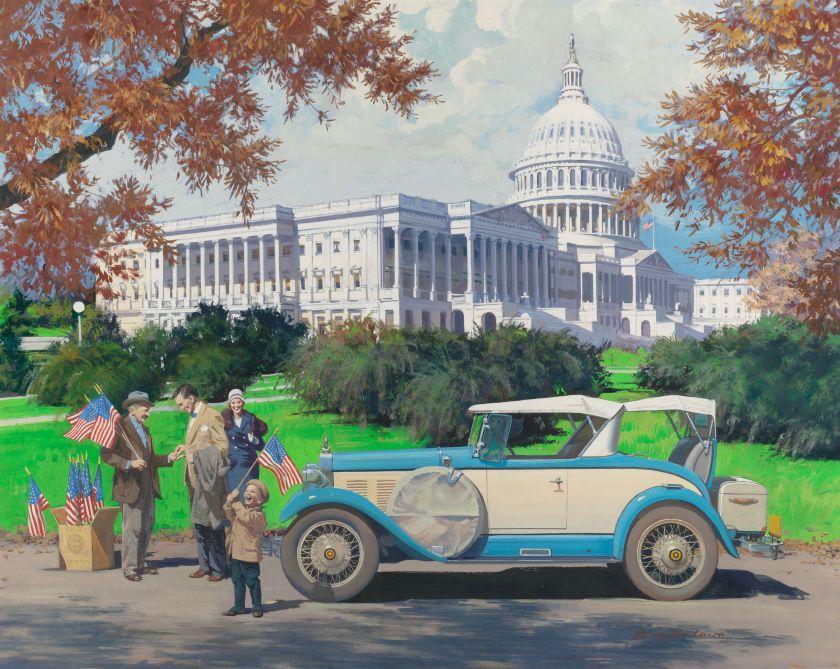 HARRY ANDERSON Washington, D.C., 1928 Falcon-Knight,