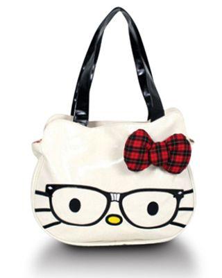 fe07b7672c Hello Kitty Nerd Face Bag! SOO cute www.baghaus.com ...