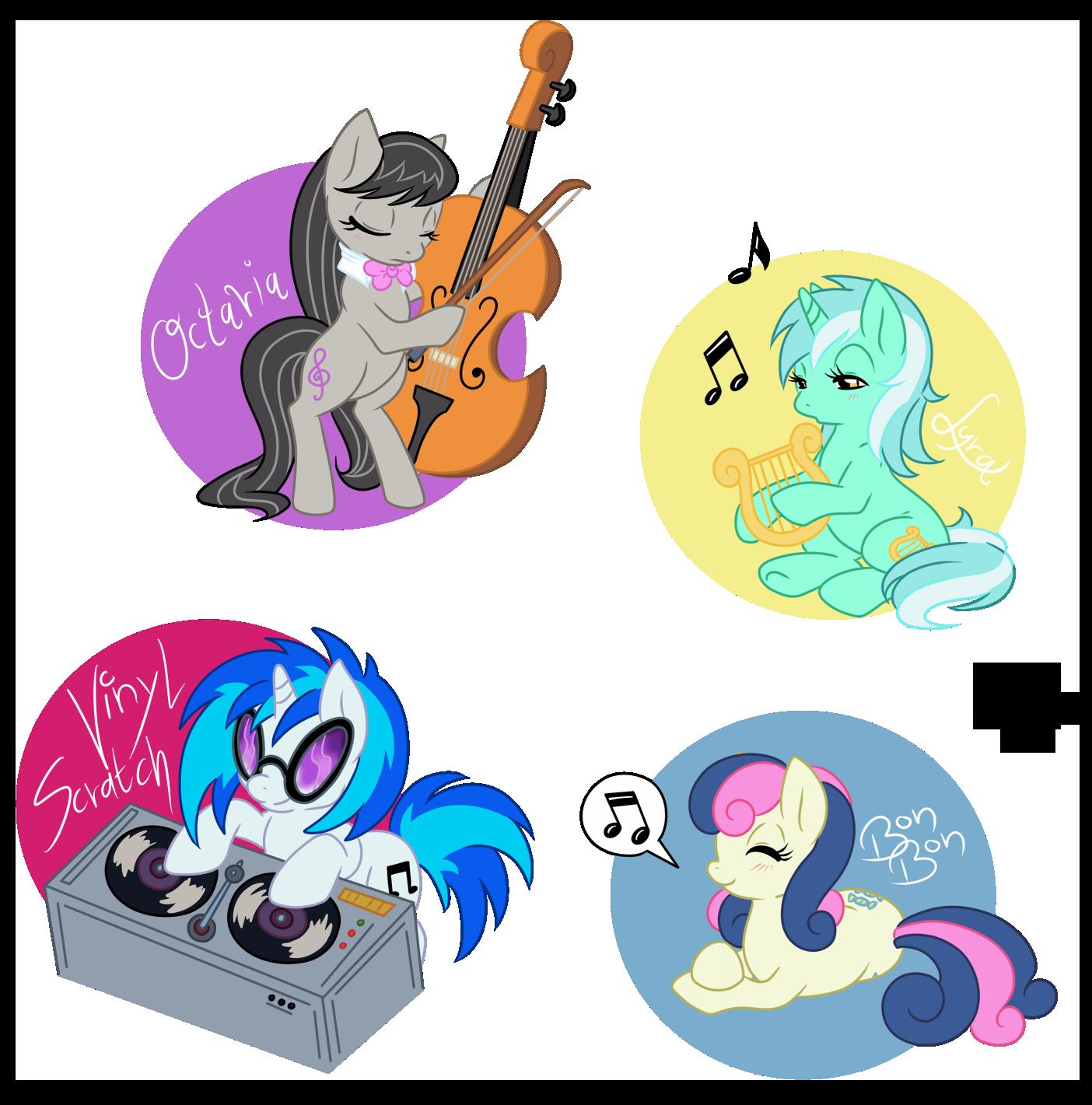 Музыка мой маленький пони с картинками