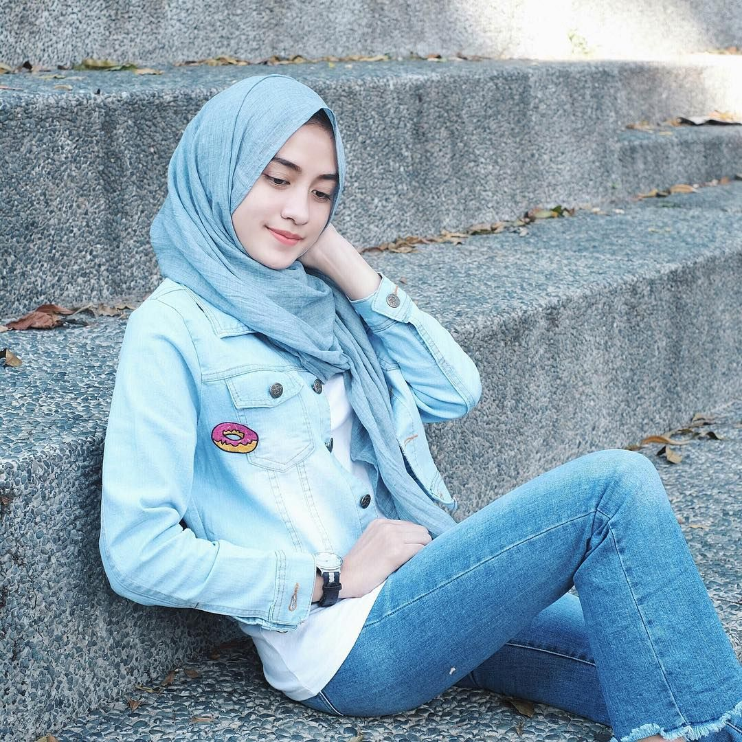 Pin By Hasna Uswatun Nisa On Casual Hijab Style In 2018 Pinterest Jilbab Khimar Ellya Sj0004 Styles Ootd Outfit Fashion