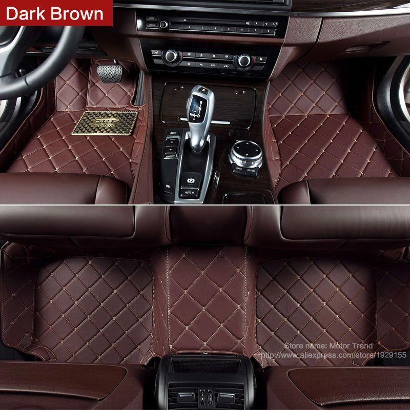 Custom fit car floor mats for Chevrolet Malibu Sonic Trax
