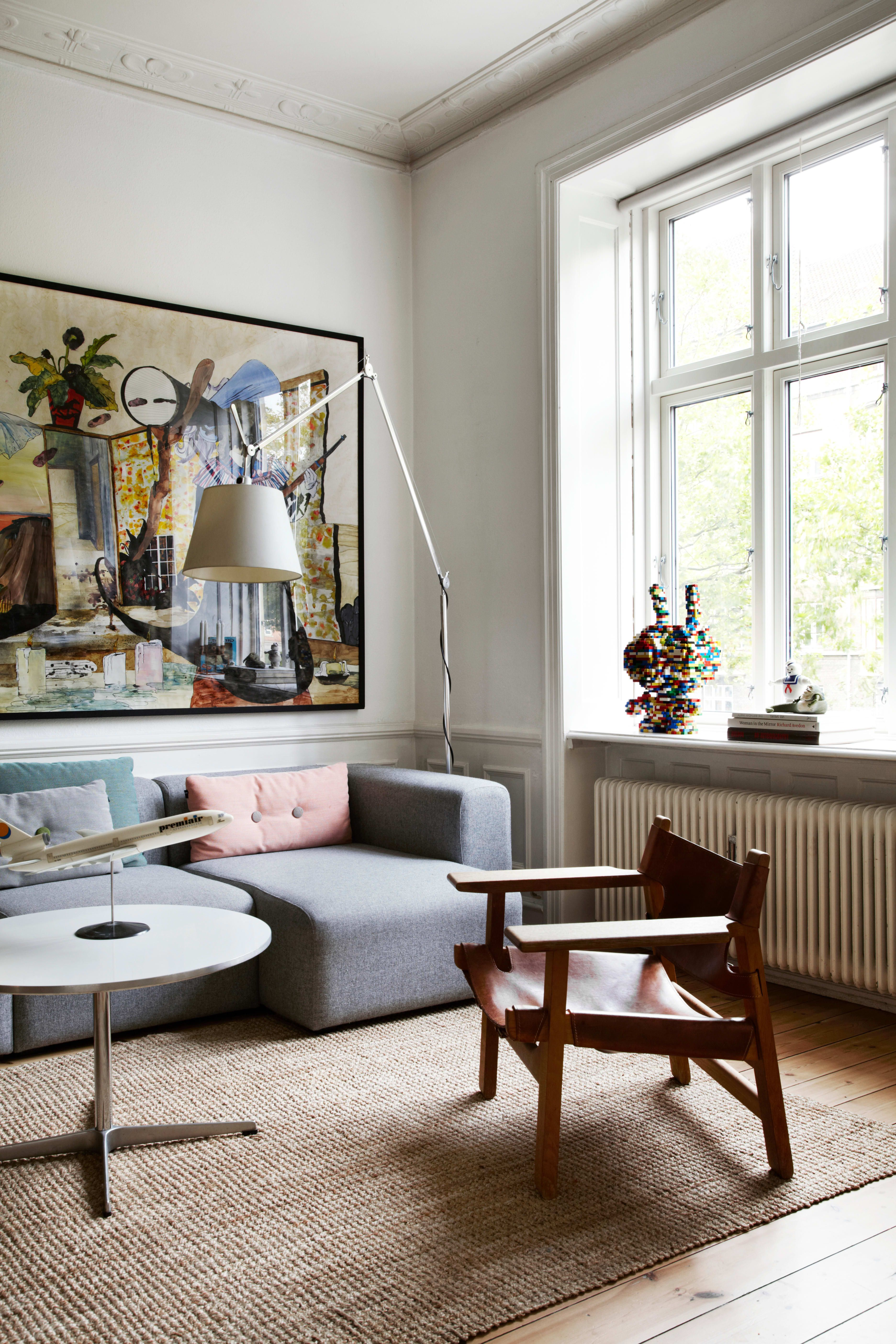 A Scandinavian Design Collector S Playful Classic Contemporary Home In Copenhagen Living Room Scandinavian Scandinavian Furniture Scandinavian Furniture Design