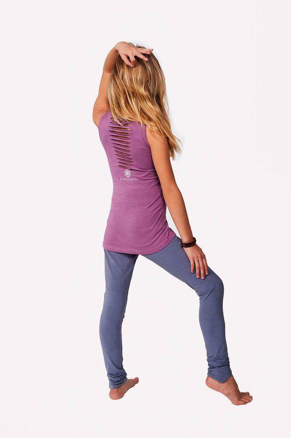 b884df18b69e9e Girl Gray Leggings, Minimalist Fashion, Yoga Girl Leggings, Yoga Pants, Children  Clothing, Girls Act