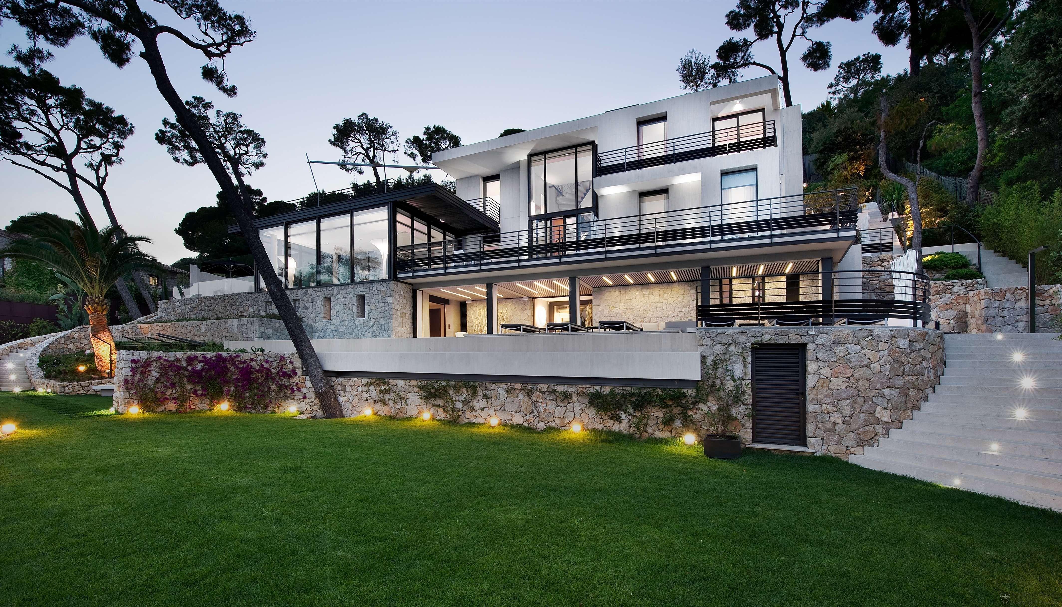 Villa Baie, Côte d\'Azur | Home Decor | Pinterest | Villa, Maison and ...