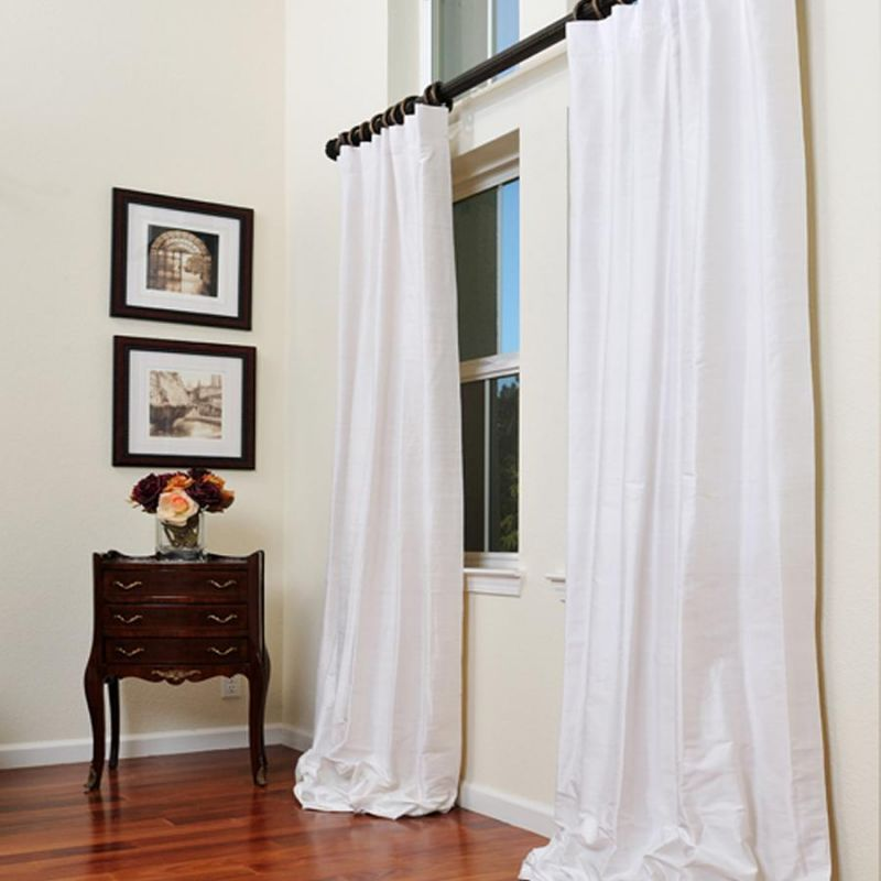 I Love The Idea Of White Curtains In Dining Area Kitchen
