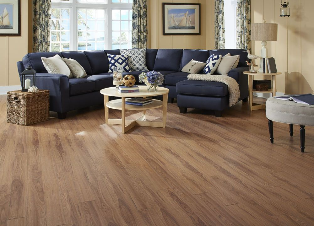 Dream Home Nirvana Plus 10mm Crystal Springs Hickory Laminate Home Laminate Wood Flooring Cost Flooring
