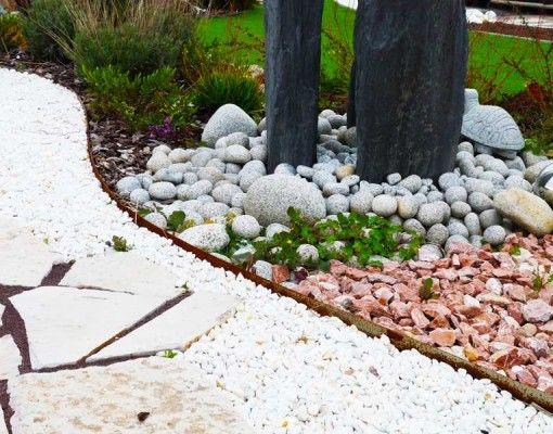 Pin De Andrea Dansa En Jardin Patio Con Piedras Jardin Con Piedras Decoraciones De Jardin
