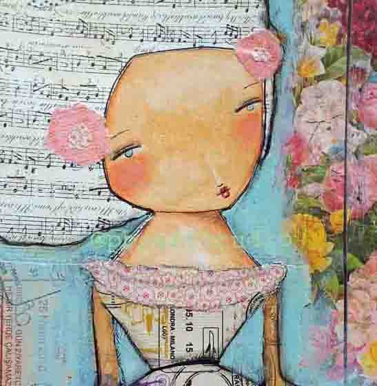 Original art you are beautiful... by PBsArtStudio on Etsy, $115.00
