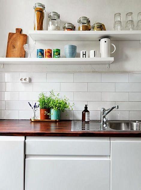 Cocinas con alma//repisas para cocina | carpinteria | Pinterest ...