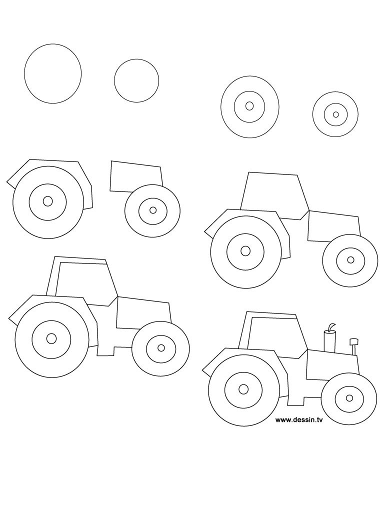 2013 11 En Traktor Creative Kids Pinterest Drawings