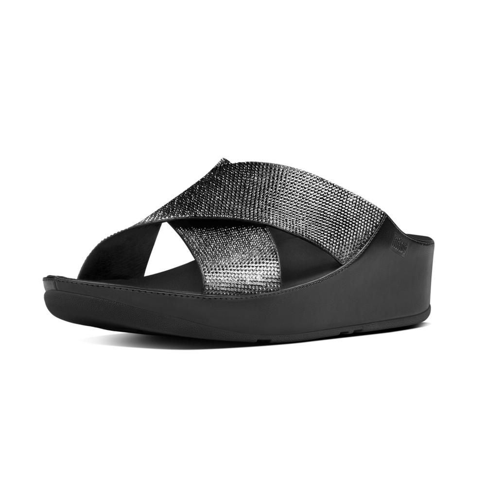7bb8f0fb971c FitFlop CRYSTALL™ Pantoletten - Stöckelwild Fashion   Shoes ...