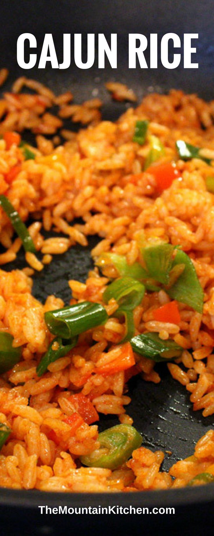 Easy Cajun Rice #cajundishes