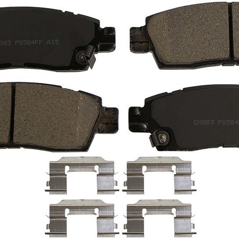Monroe Brakes Prosolution Ceramic Brake Pads Gx883 Ceramic Brake Pads Ceramic Brakes Brake Pads