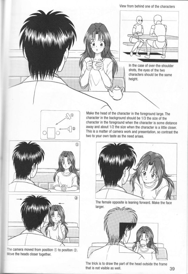 T 0verhead View Ln The Case Of An Overhead View Draw The Table Before Drawing The Characters When The Characte Manga Drawing Tutorials Manga Drawing Drawings