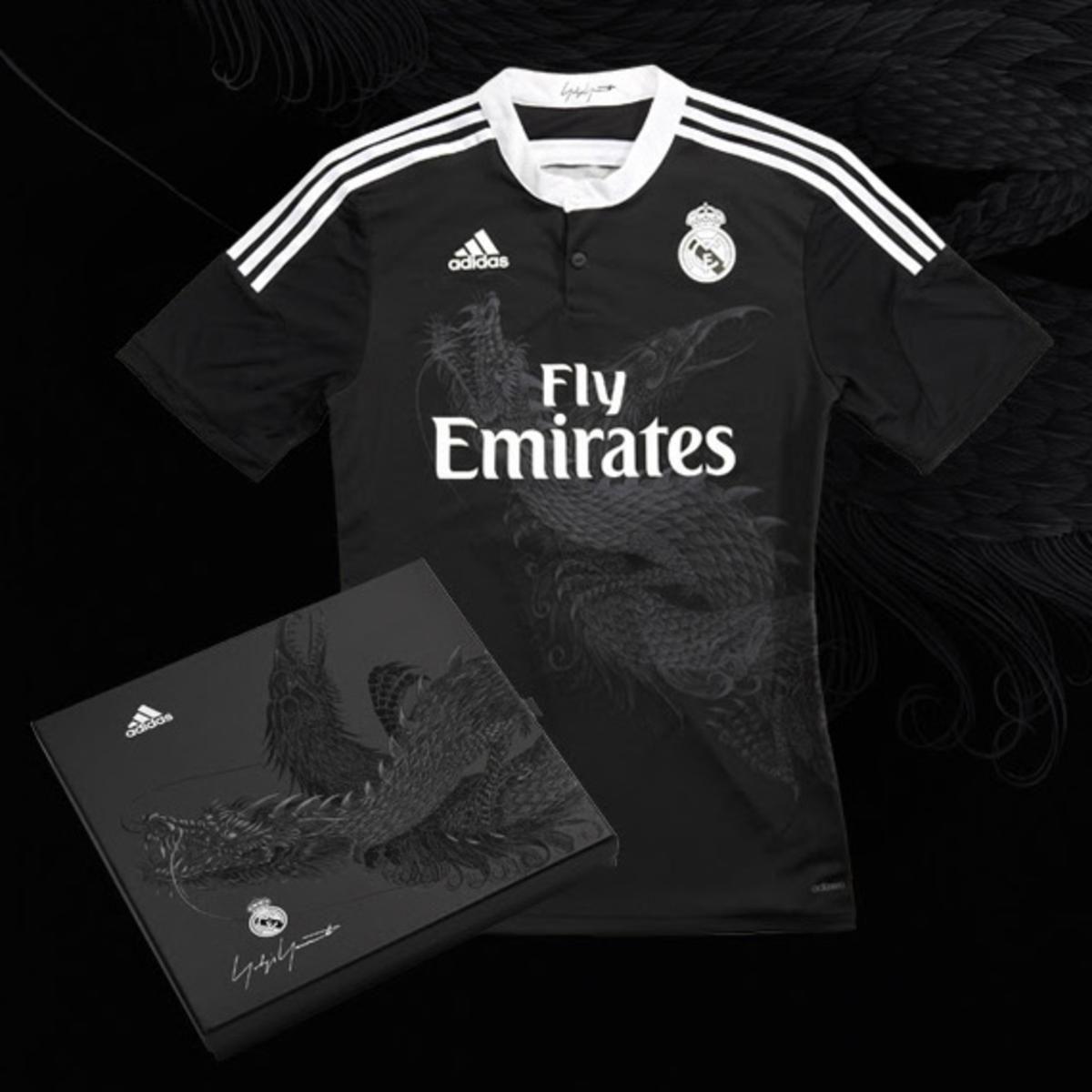 Yohji Yamamoto X Adidas 2014 2015 Real Madrid Third Kit Available Now Real Madrid Third Kit Real Madrid Yohji Yamamoto