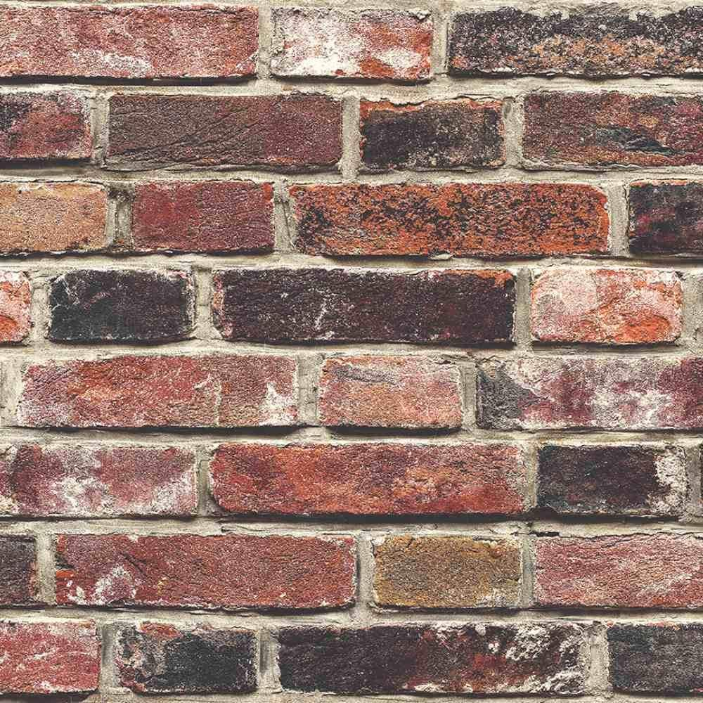 Exposed Real Brick Effect Wallpaper 50001 Today