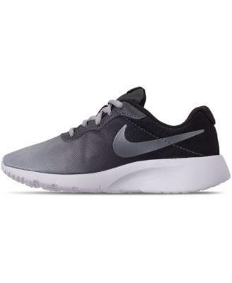 82adf18763b Nike Little Boys  Tanjun Print Casual Sneakers from Finish Line - Black 1